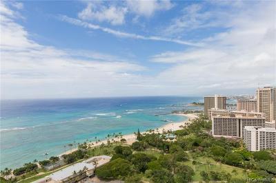 Honolulu Condo/Townhouse For Sale: 223 Saratoga Road #3601