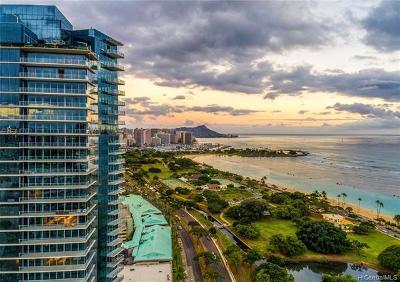 Hawaii County, Honolulu County Rental For Rent: 1118 Ala Moana Boulevard #2805