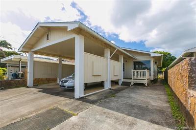 Single Family Home For Sale: 45-196 Wena Street