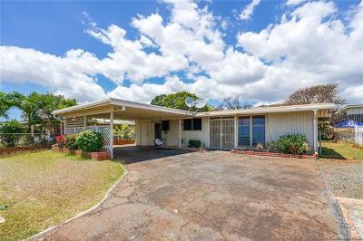 Waipahu Single Family Home For Sale: 94-350 Lehopulu Street