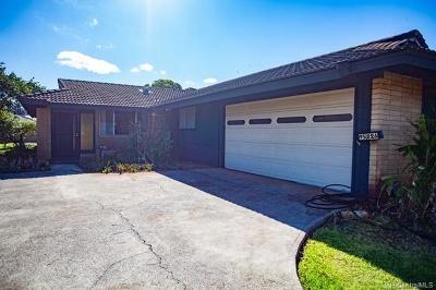 Mililani Single Family Home For Sale: 95-226 Kupuku Circle
