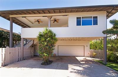 Haleiwa Single Family Home For Sale: 59-023b Holawa Street