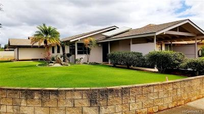 Mililani Single Family Home For Sale: 95-662 Holu Place