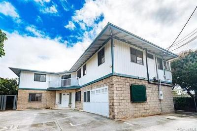Honolulu Single Family Home For Sale: 1045 Belser Street