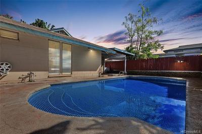Mililani Single Family Home For Sale: 95-206 Hokulea Place