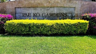Kapolei Condo/Townhouse For Sale: 91-1040 Kaiau Avenue #12A