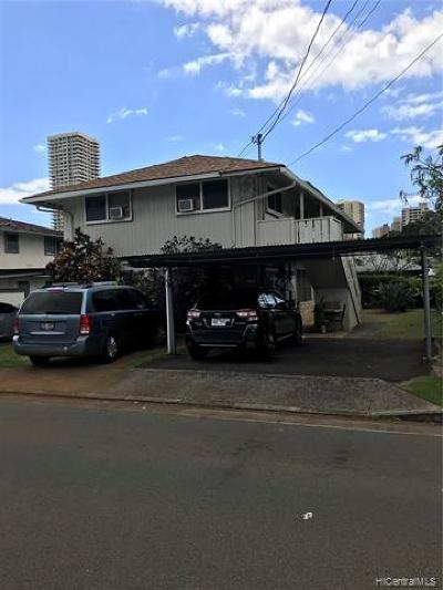 Central Oahu, Diamond Head, Ewa Plain, Hawaii Kai, Honolulu County, Kailua, Kaneohe, Leeward Coast, Makakilo, Metro Oahu, North Shore, Pearl City, Waipahu Rental For Rent: 2823 Varsity Circle #C