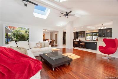 Single Family Home For Sale: 4590 Waikui Street