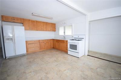 Honolulu Single Family Home For Sale: 1111 Clio Street