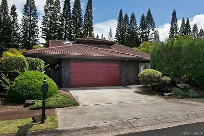 Mililani Single Family Home For Sale: 95-538 Poiki Place