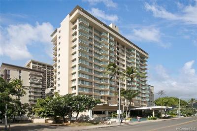 Honolulu Condo/Townhouse For Sale: 444 Kanekapolei Street #412