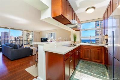 Honolulu Condo/Townhouse For Sale: 440 Olohana Street #2400