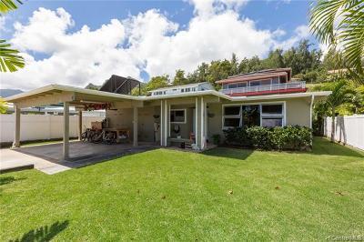 Kailua Single Family Home For Sale: 1335 Akiahala Street