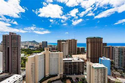 Honolulu Condo/Townhouse For Sale: 411 Hobron Lane #3513