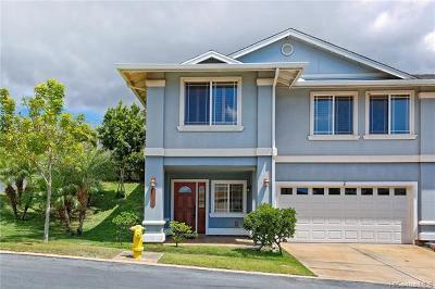 Kapolei Single Family Home For Sale: 92-1087 Palahia Street #L
