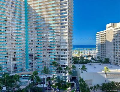 Honolulu Condo/Townhouse For Sale: 1778 Ala Moana Boulevard #1413