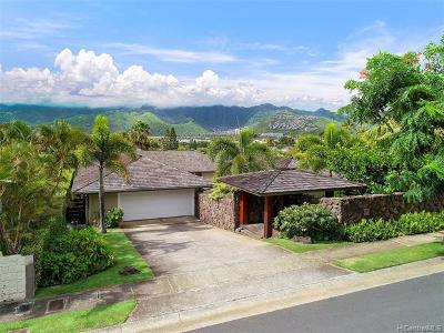 Honolulu Single Family Home For Sale: 348 Poipu Drive