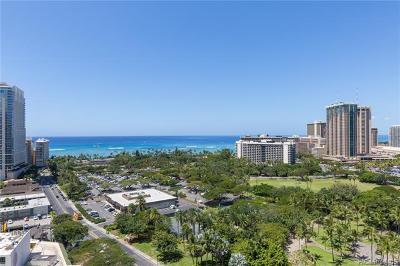 Honolulu, Kailua, Waimanalo, Honolulu, Kaneohe Condo/Townhouse For Sale: 383 Kalaimoku Street #2003