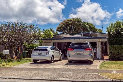 Honolulu, Kailua, Waimanalo, Honolulu, Kaneohe Rental For Rent: 4893 Poola Street