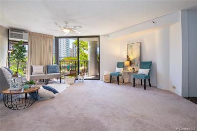 Honolulu, Kailua, Waimanalo, Honolulu, Kaneohe Condo/Townhouse For Sale: 60 N Beretania Street #409