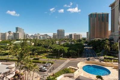 Honolulu Condo/Townhouse For Sale: 1860 Ala Moana Boulevard #805