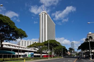 Honolulu Condo/Townhouse For Sale: 410 Atkinson Drive #2115