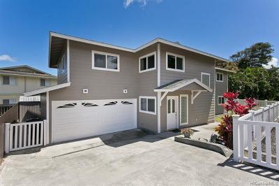 Kaneohe Single Family Home For Sale: 45-402 Lolopua Place