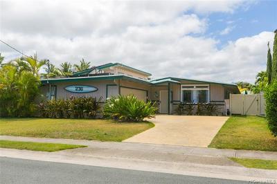 Single Family Home For Sale: 236 Kakahiaka Street