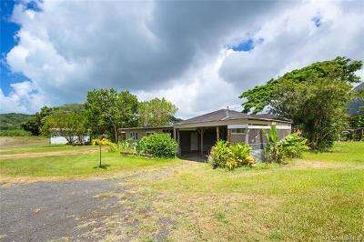 Kaneohe Single Family Home For Sale: 47-304 Ahaolelo Road