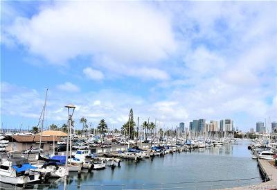 Honolulu Condo/Townhouse For Sale: 1777 Ala Moana Boulevard #813