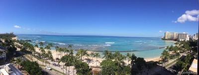 Hawaii County, Honolulu County Condo/Townhouse For Sale: 2500 Kalakaua Avenue #1001