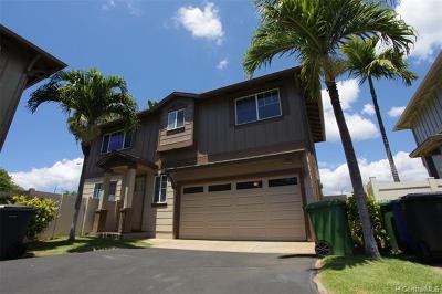 Ewa Beach Single Family Home For Sale: 91-1221 Kanela Street #M-54