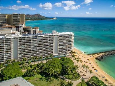 Hawaii County, Honolulu County Condo/Townhouse For Sale: 2161 Kalia Road #205
