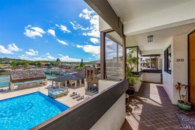 Honolulu County Condo/Townhouse For Sale: 500 Lunalilo Home Road #15H