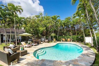 Kailua Single Family Home For Sale: 102 Kaiolino Way