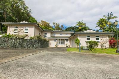 Single Family Home For Sale: 3936 Waokanaka Street #16