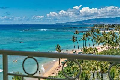 Hawaii County, Honolulu County Condo/Townhouse For Sale: 2161 Kalia Road #804