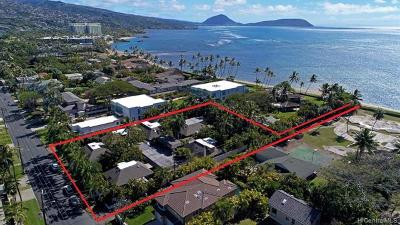 Honolulu Multi Family Home For Sale: 4775 Kahala Avenue
