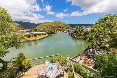 Condo/Townhouse For Sale: 6370 Hawaii Kai Drive #7