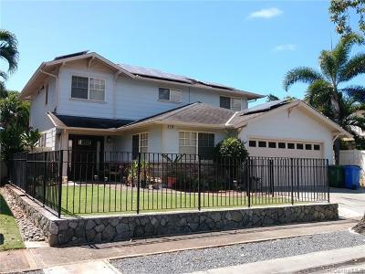 Single Family Home For Sale: 91-209 Nohoana Place