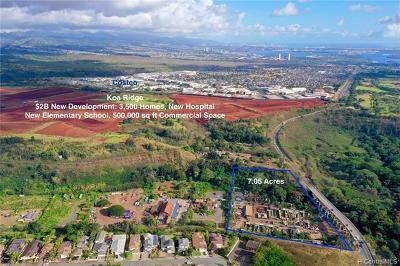 Waipahu Residential Lots & Land For Sale: 94-500 Kamehameha Highway #J