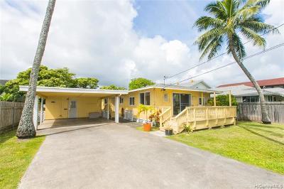 Kailua Single Family Home For Sale: 327 Maluniu Avenue