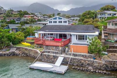 Kaneohe Single Family Home For Sale: 46-127 Yacht Club Place