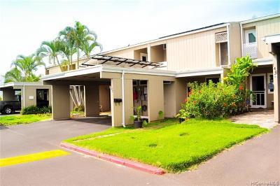 Mililani HI Condo/Townhouse For Sale: $559,900