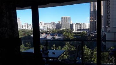 Honolulu Condo/Townhouse For Sale: 1860 Ala Moana Boulevard #1210