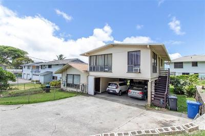Honolulu Single Family Home For Sale: 308b Elelupe Road