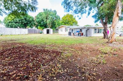 Kailua HI Single Family Home For Sale: $1,099,000