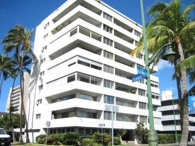 Condo/Townhouse For Sale: 2015 Ala Wai Boulevard #5C