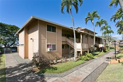 Pearl City Condo/Townhouse For Sale: 98-1359 Koaheahe Place #123
