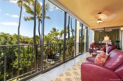 Condo/Townhouse For Sale: 4999 Kahala Avenue #304